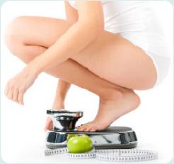 Идельный вес женщины