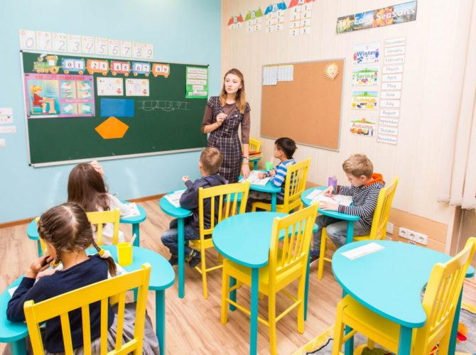 урок английского для дошкольников