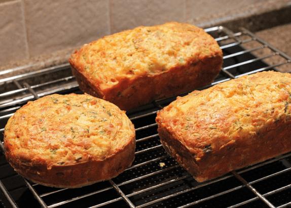 Рыбный хлеб на решётке