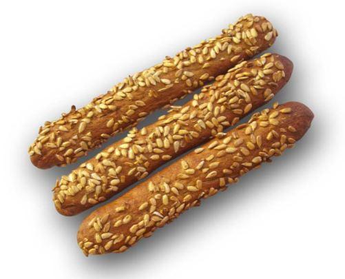 Хлебные палочки с семенами кунжута