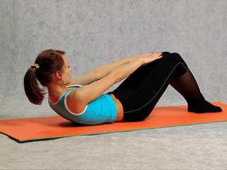 Упражнение полуподъемы