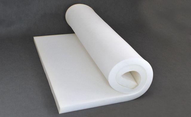 скручивание поролона для маникюрной подушки