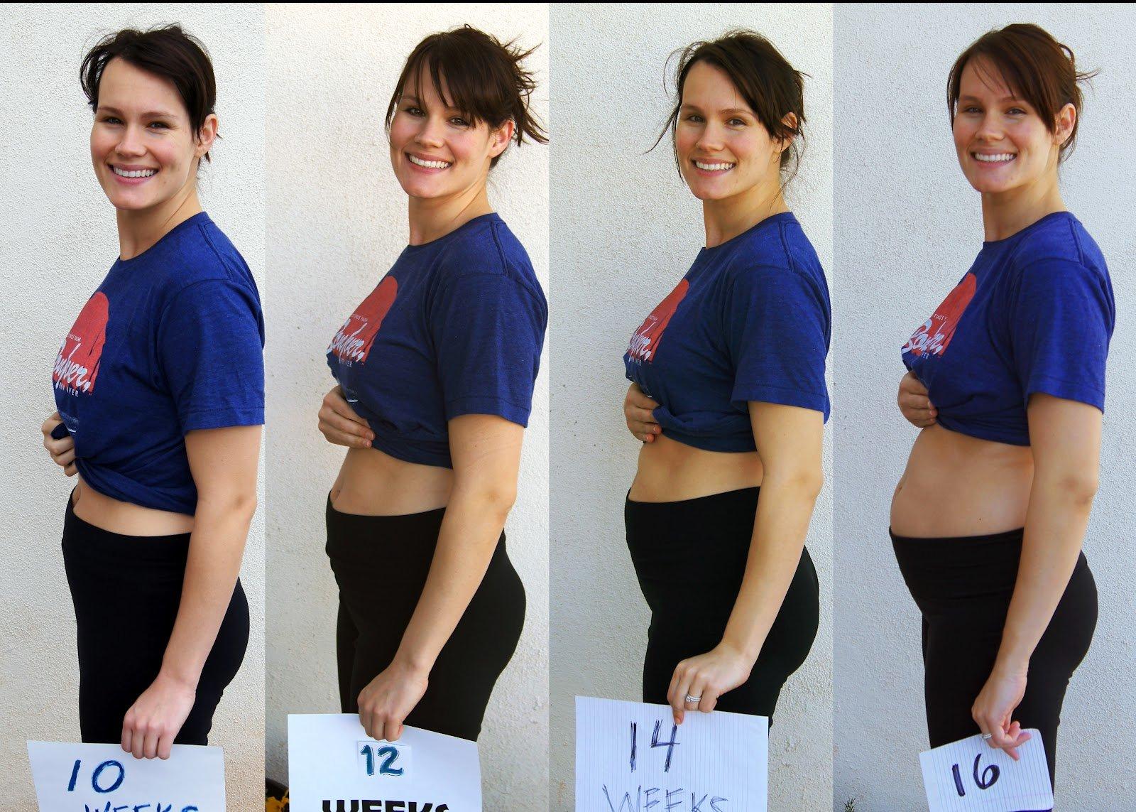 11 недель беременность фото живота