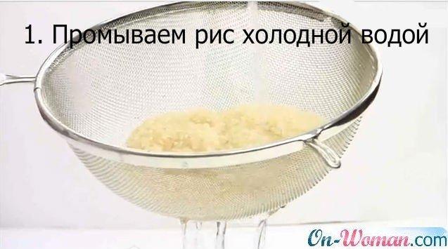 Как сварить рис в домашних условиях для суши