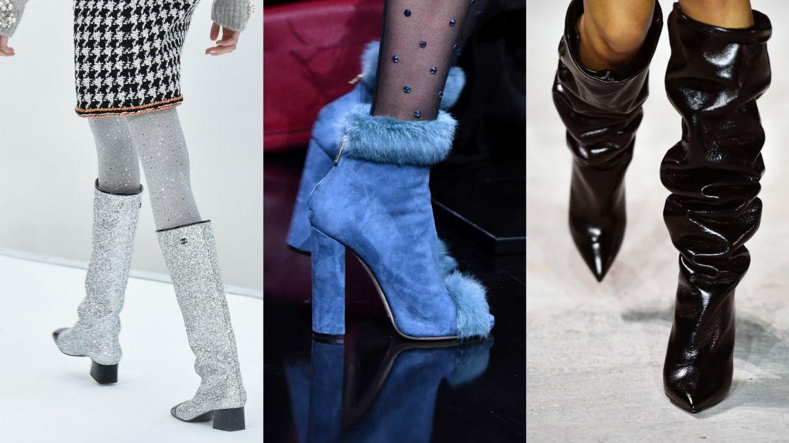 Что будет модно зимой 2018 обувь
