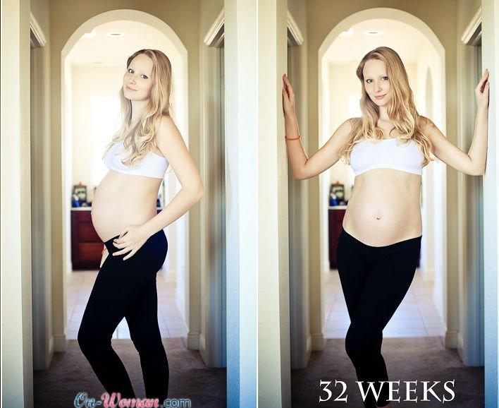 Ребенок в 32 недели беременности фото узи