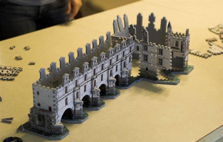 3D пазл крепости
