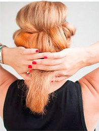 Оставшиеся кончики волос