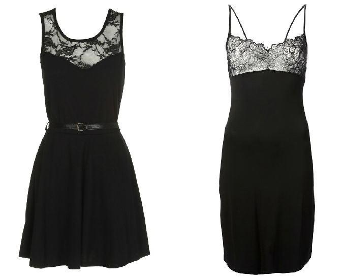 Самые красивые платья черного цвета