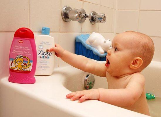 Детский шампунь для роста волос