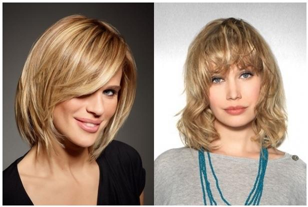 Причёски на средние волосы на повседневку