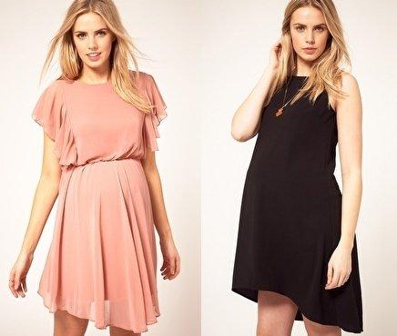 Модные платье для беременных