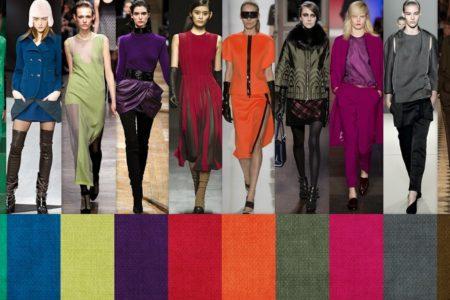 Модные цвета 2018 года