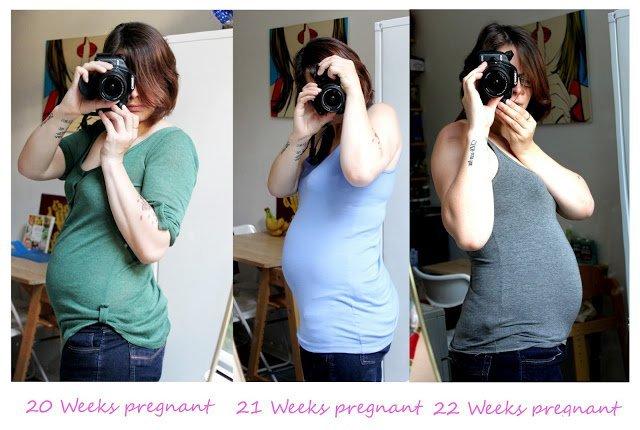 живот 22 недель