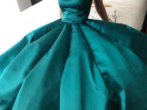 Создание платья на выпускной своими руками
