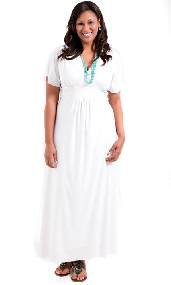 Купить Белое Платье Для Полных