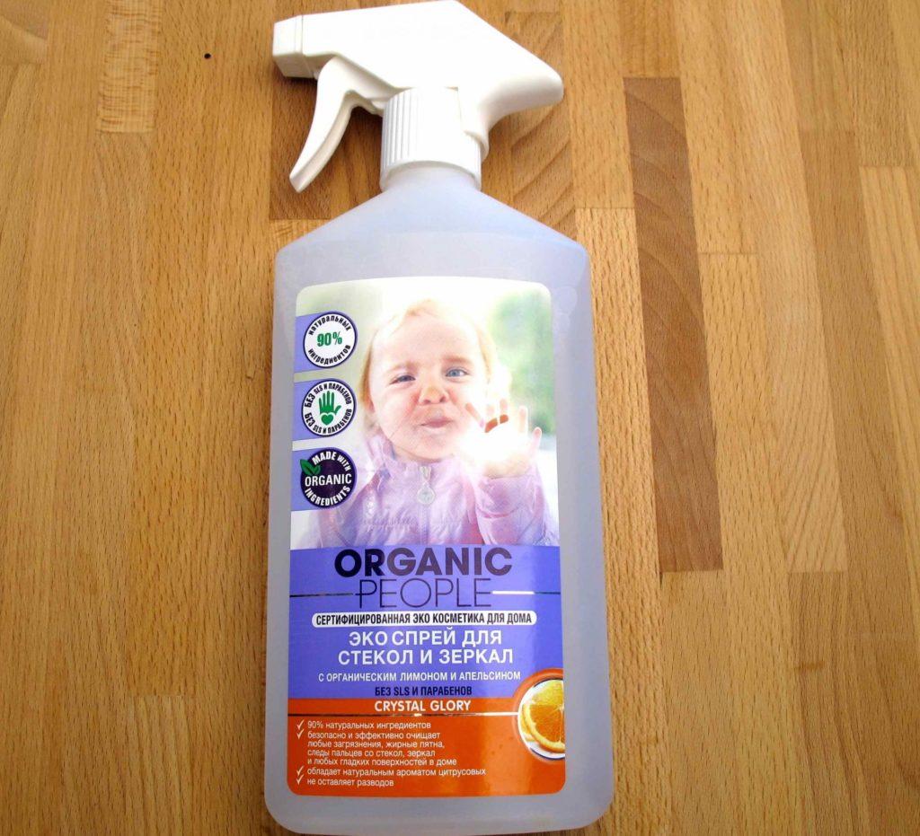 Моющий состав Organic People Эко-спрей