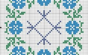 Схема-вышивка Целебник