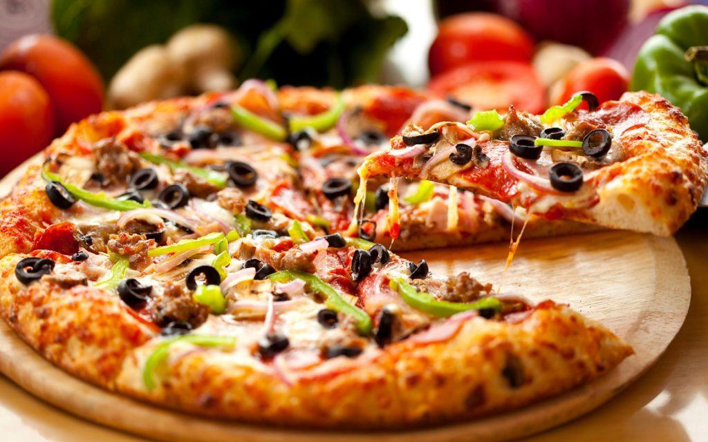 готовая классическая пицца