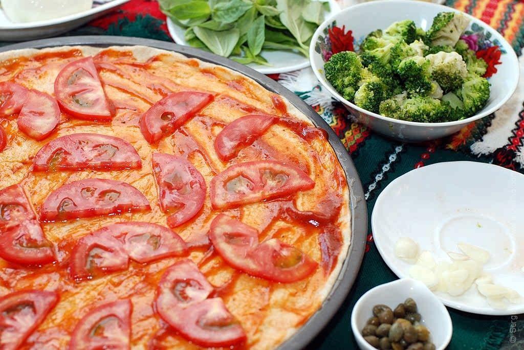 помидоры на основе для пиццы