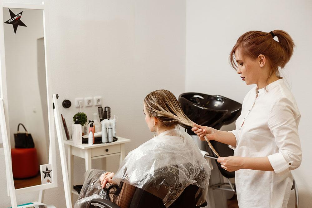 Абсолютное счастье для волос в салоне