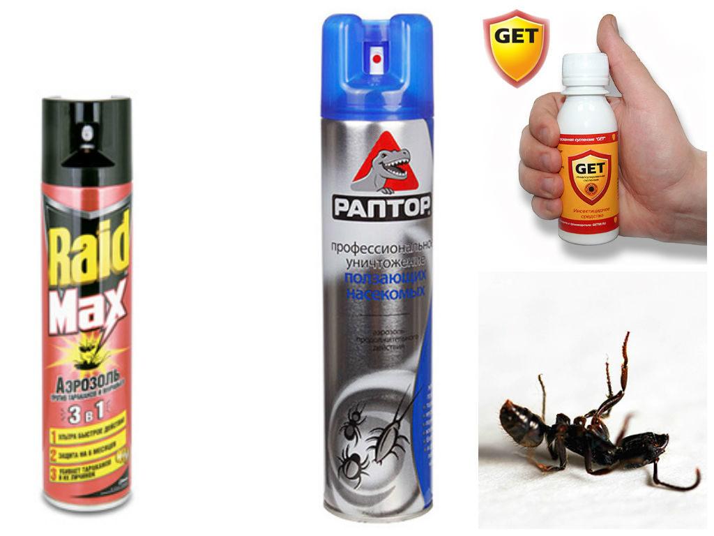 Аэрозоли против муравьёв
