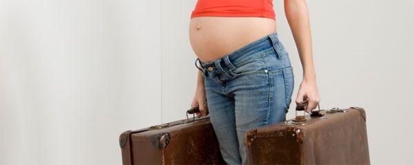 Путешествие самолетом во время беременности: Можно ли это?