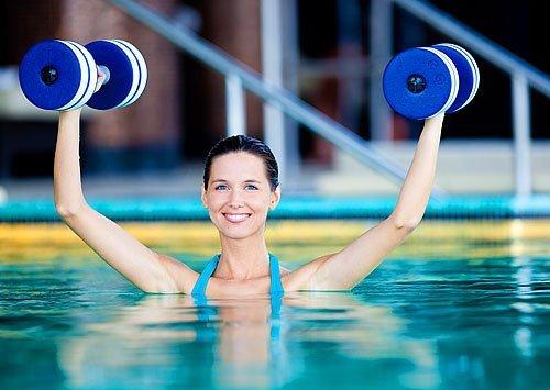 аквааэробика и питание для похудения