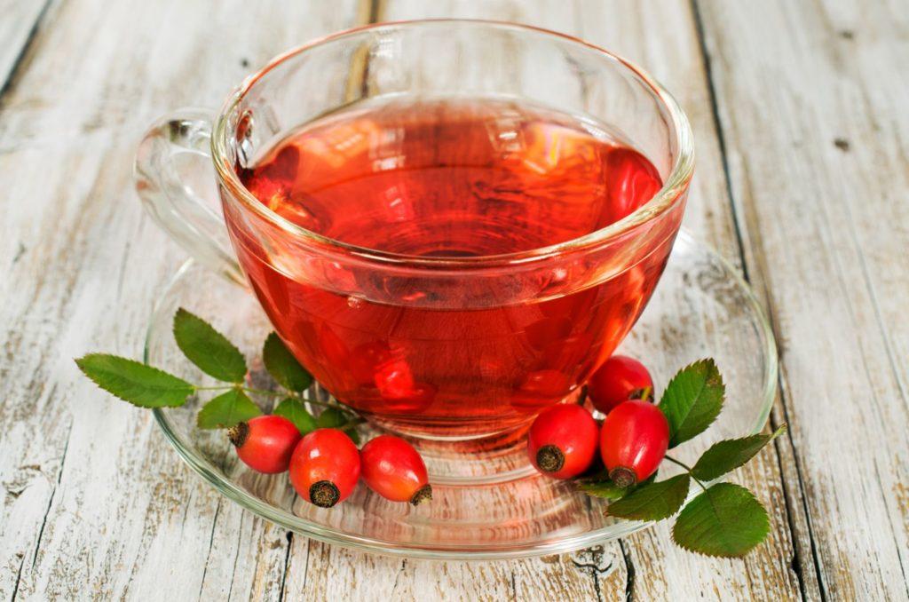 Ароматный шиповниковый чай