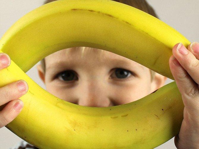 алергия на бананы у детей