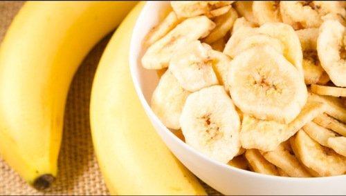 детское пюре из бананов