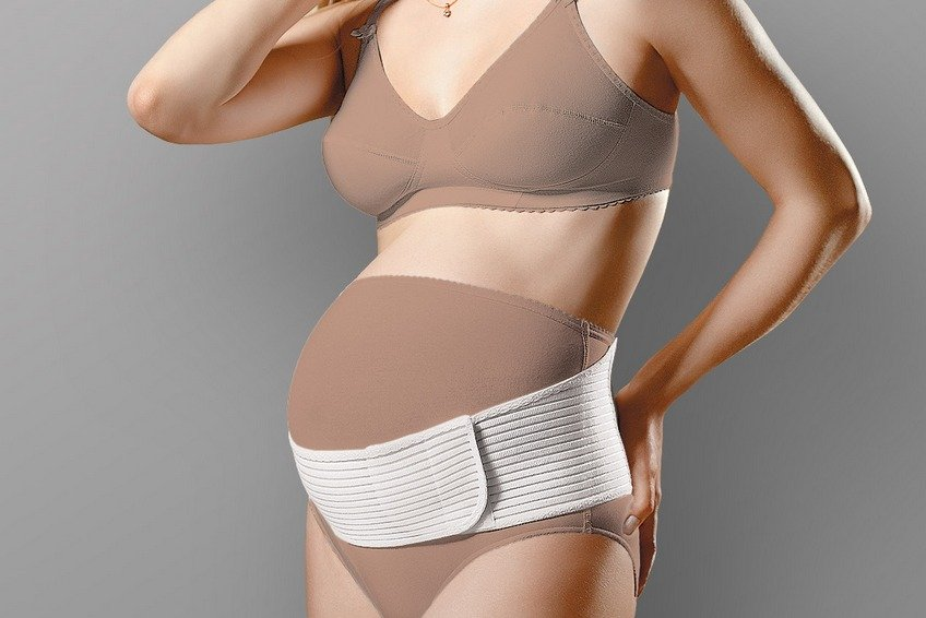 Когда и зачем носить бандаж беременным 1162
