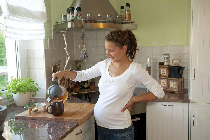 беременным мяту
