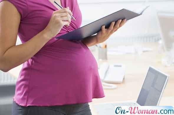скрыть от начальника беременность