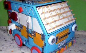 Бизиборд куб