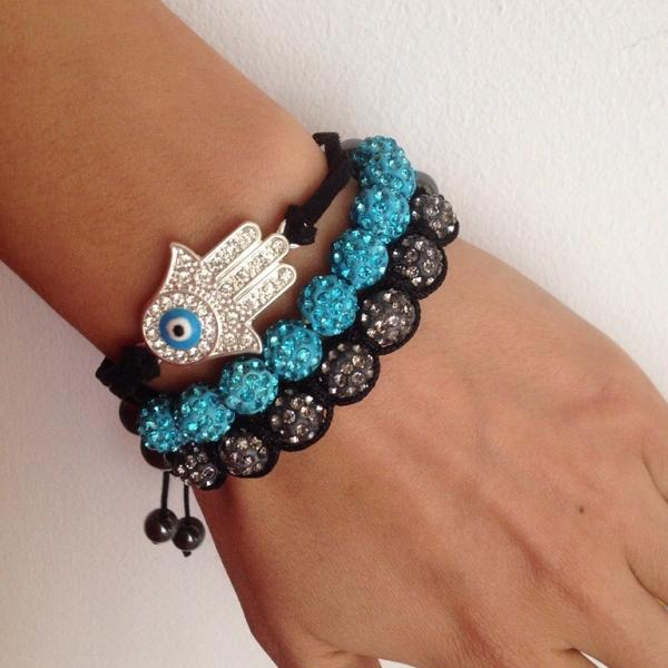 Браслет с символом Рука Фатимы