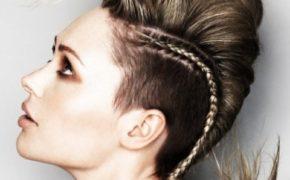 Брейды на висках, сделанные мастером-парикмахером