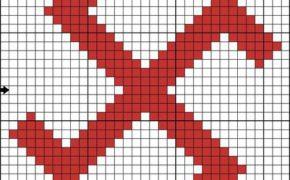 Схема вышивки символа Чароврат