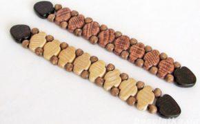Перекидные деревянные чётки