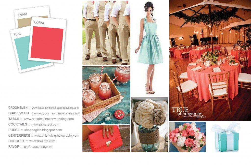 Цветовая гамма для свадьбы