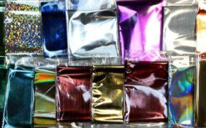Цветовое разнообразие фольги для маникюра
