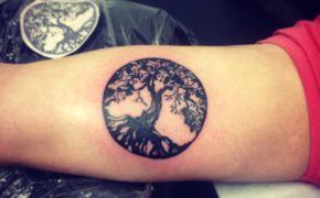 Татуировка дерево жизни