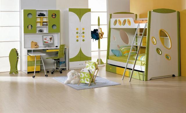 Обустройство и освещение детской комнаты