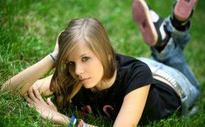 девушка 13 лет