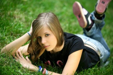 фото девушек в домашних условиях фото 14 15 лет