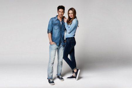 Женские джинсы унисекс