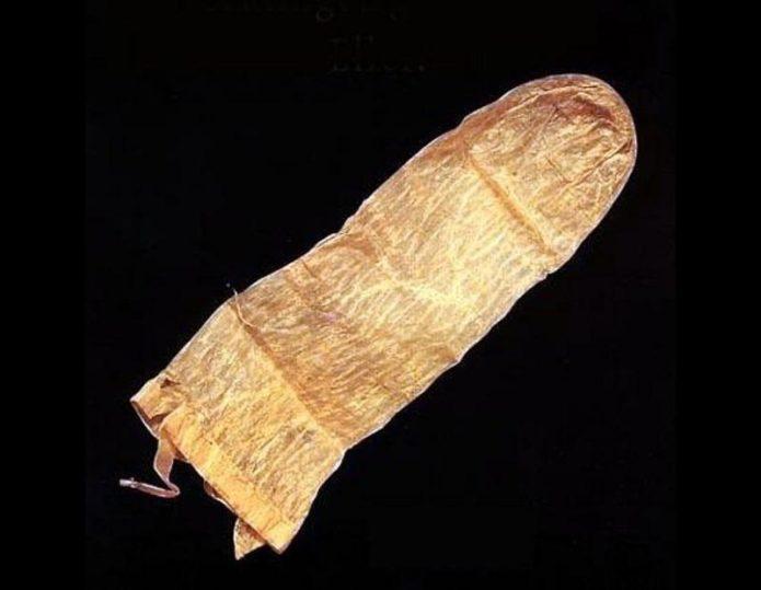 древние презервативы