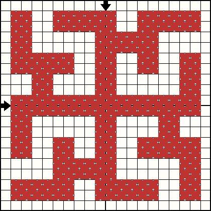 Схема вышивки символа Духобор