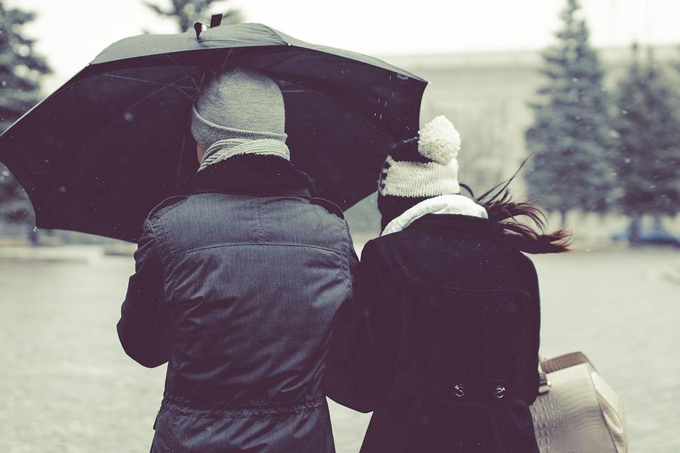 Двое под зонтом