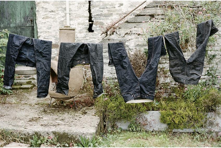 Неправильная сушка джинсов
